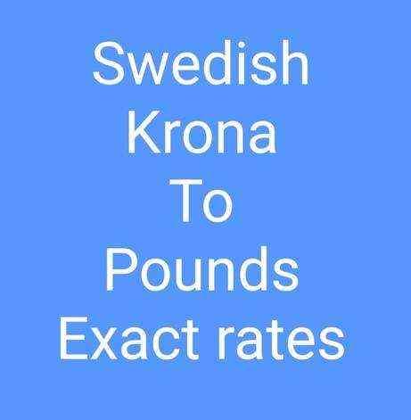 Exchange Rate Swedish Krona to Euro (Currency Calculator) - X-Rates